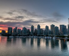 Photo: Vancouver Skyline At Sunset