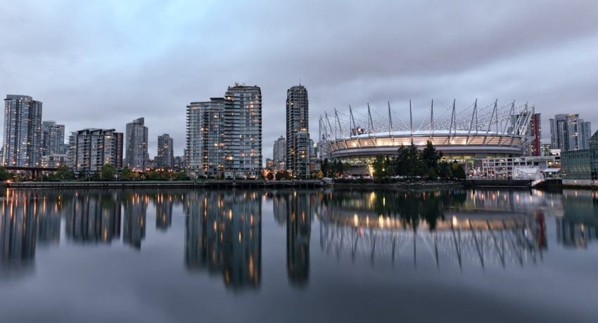 BC Place HDR with D90 and 14-24