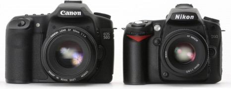 Canon and Nikon May Both Announce New DSLRs by Month's End