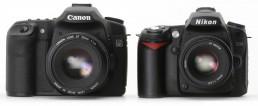 Canon and Nikon DSLR