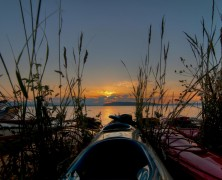 Photo: Kayak Sunset