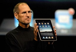 Steve Jobs and iPad