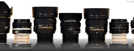 Seven 50mm prime lenses for Nikon F-mount compared