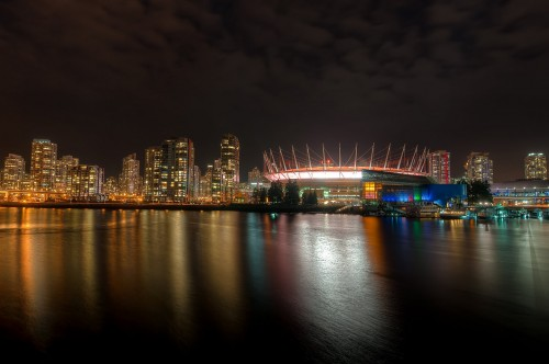Vancouver Skyline from Olympic Village 1