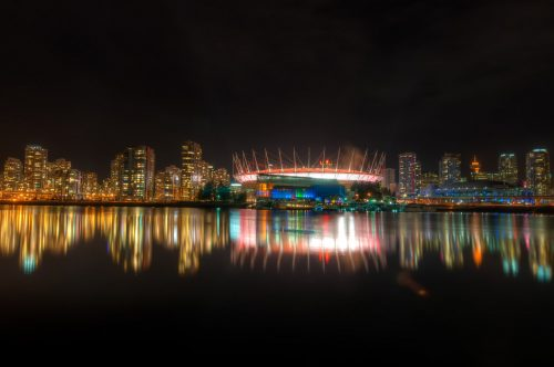 Vancouver Skyline from Olympic Village 3