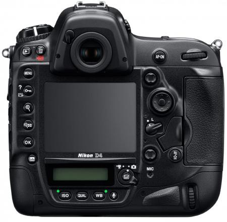 Nikon D4 High Res Back Transparent