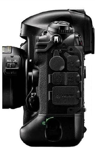 Nikon D4 Left