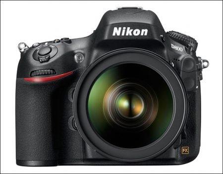 Nikon D800 Front