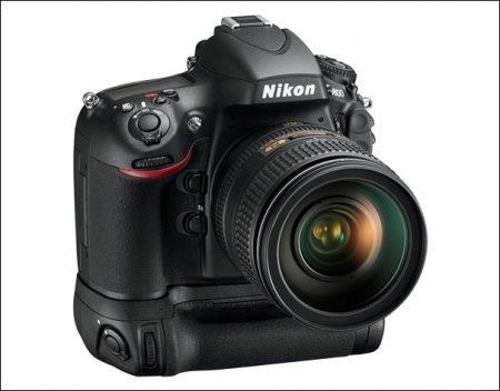 Nikon D800 With Grip