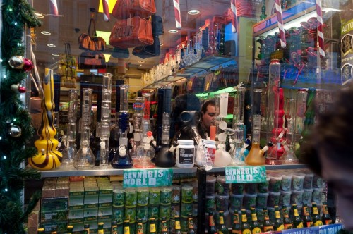 Amsterdam Dec 2011 bongs