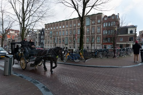 Amsterdam Dec 2011 horse and carriage