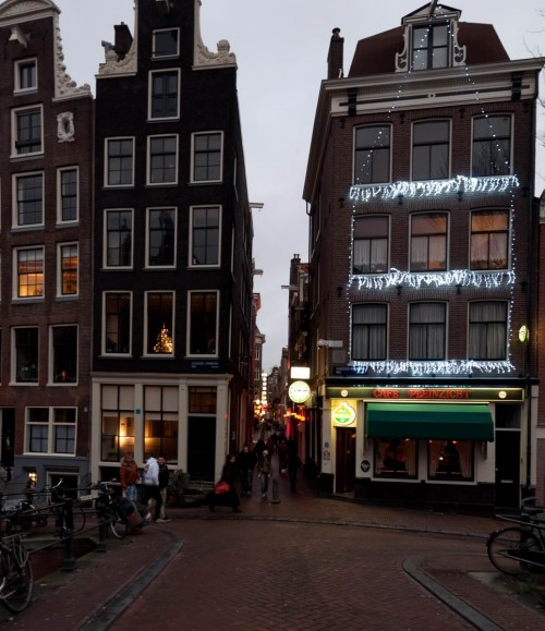 Amsterdam Dec 2011 red light district