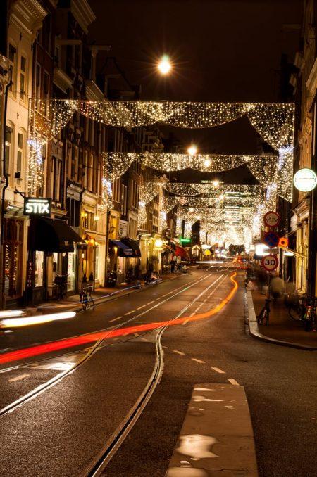 Amsterdam Dec 2011 night long exposure
