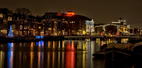 Amsterdam Dec 2011 long exposure