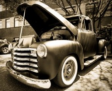 Photo: Greaser Pickup Truck