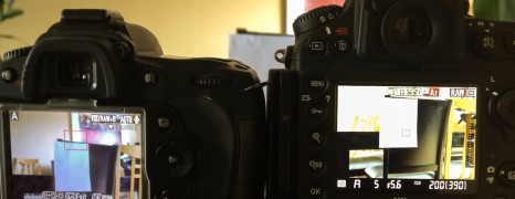 D800 LCD Green Colour Cast Test