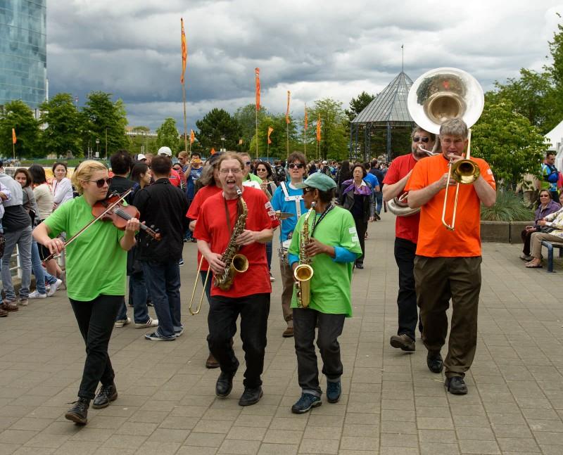 Dragon Boat Festival : 2012-06-17 : Hastings Street Band