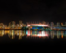Photo: Vancouver Skyline from Olympic Village
