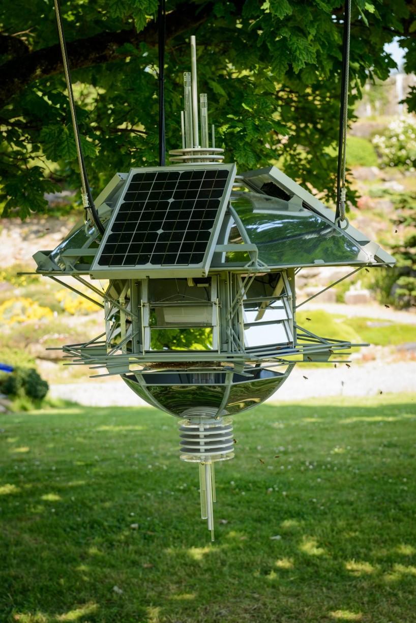 UBC Botanical Garden Bee Hive Fine Art