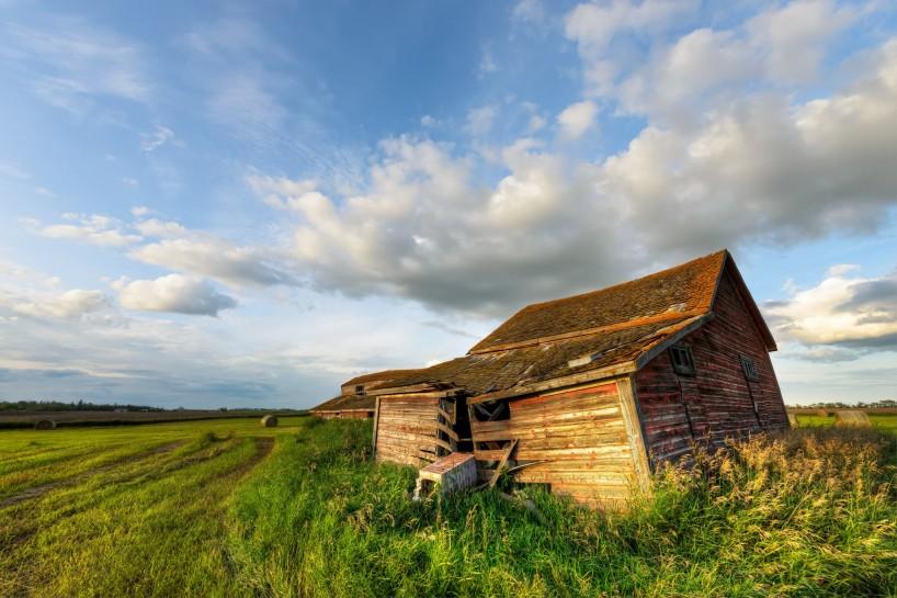 Alberta Visit Aug 2012 : Old Farmhouse HDR