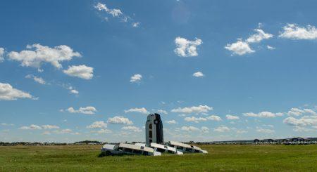 Alberta Visit Aug 2012 : Lamont Limousine Sculpture