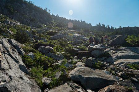 Lions Binkert Trail Hike Vancouver - 2012-08-18 : the rock scramble