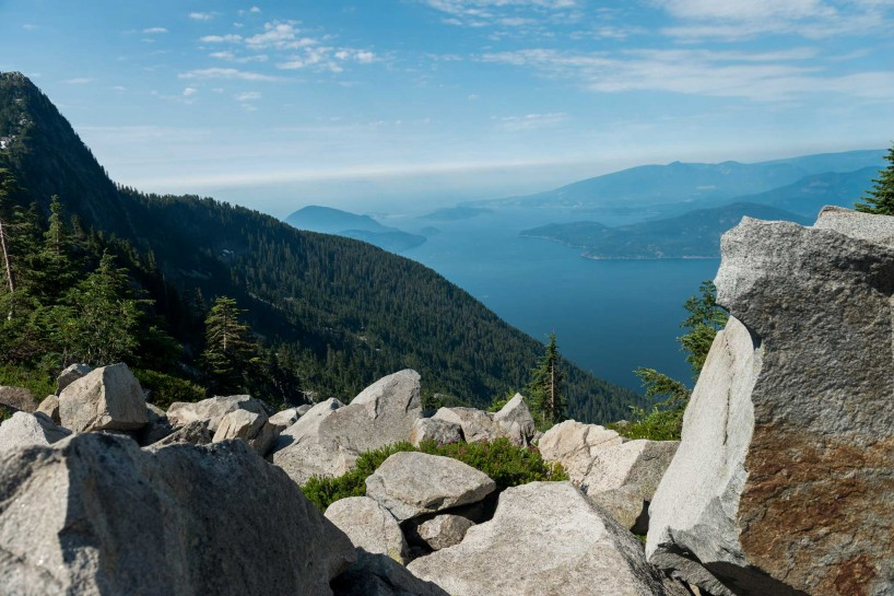 Lions Binkert Trail Hike Vancouver - 2012-08-18 : boulders