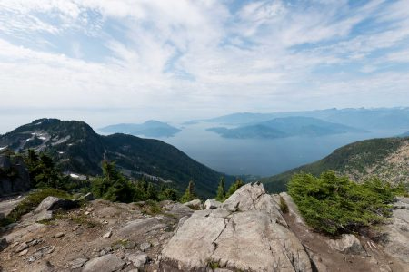 Lions Binkert Trail Hike Vancouver - 2012-08-18 : Howe Sound from the Lions