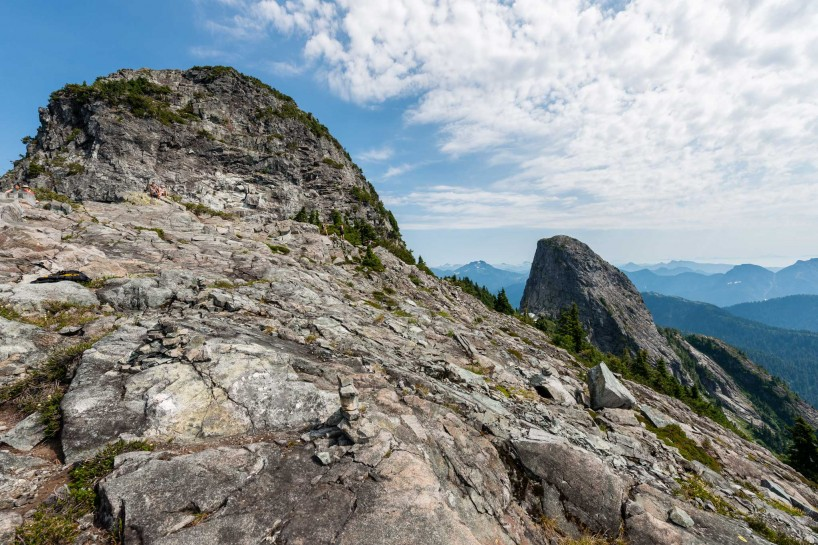 Lions Binkert Trail Hike Vancouver - 2012-08-18 : both lions
