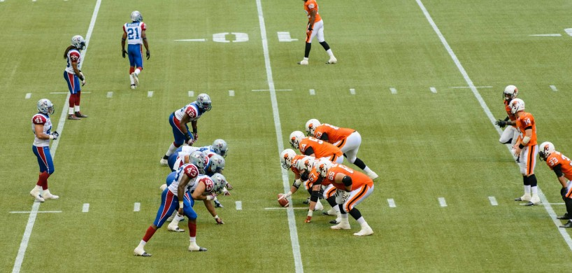 CFL Football : BC Lions vs Montreal Alouettes : Sept 8 2012 : Lineup