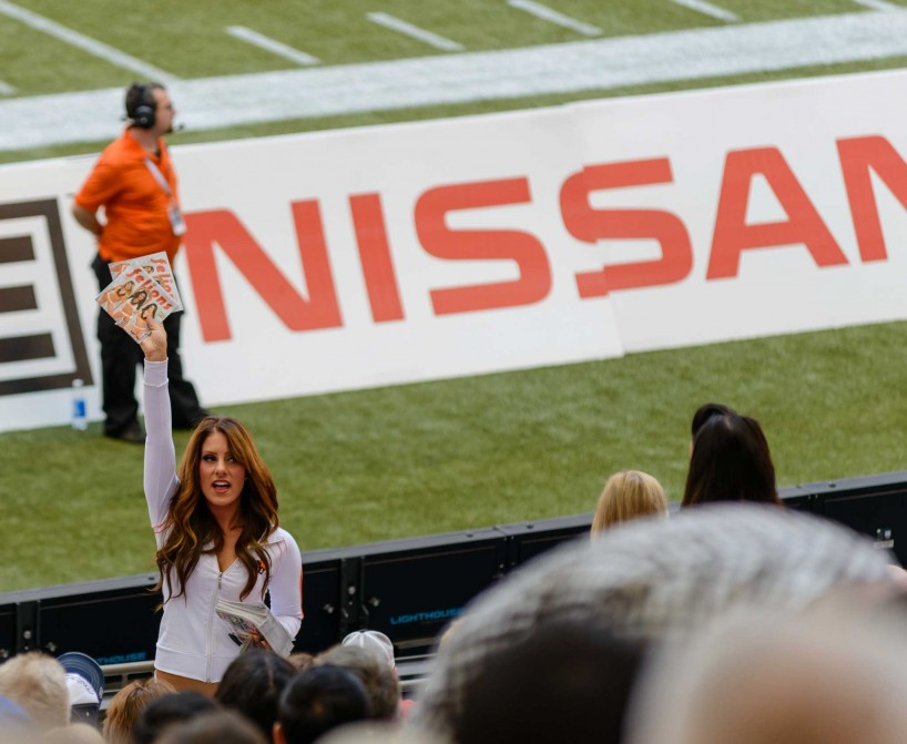 CFL Football : BC Lions vs Montreal Alouettes : Sept 8 2012 : Felions