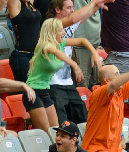 CFL Football : BC Lions vs Montreal Alouettes : Sept 8 2012 : Zombie