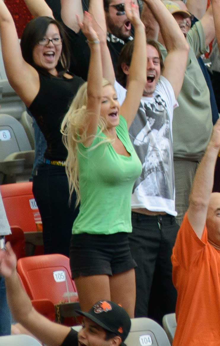 CFL Football : BC Lions vs Montreal Alouettes : Sept 8 2012 : Not a Zombie