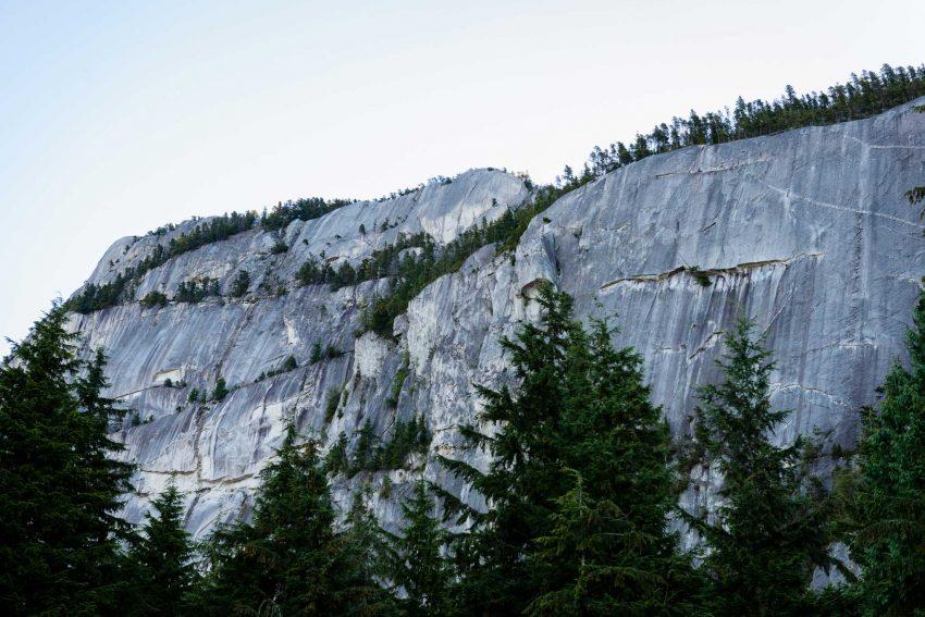 Stawamus Chief - South Peak - Squamish BC - 2012-09-13 : Rock Face