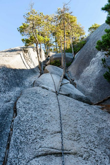 Stawamus Chief - South Peak - Squamish BC - 2012-09-13 : Chain