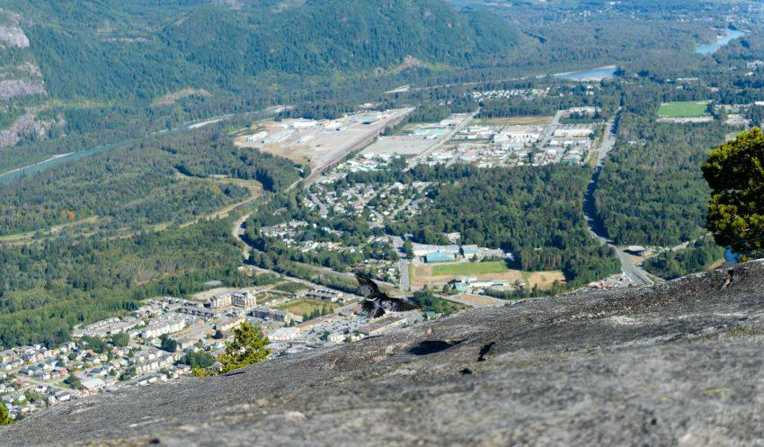 Stawamus Chief - South Peak - Squamish BC - 2012-09-13 : Squamish