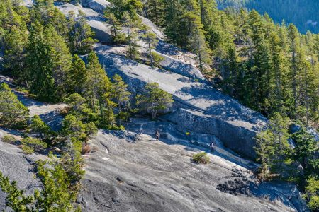 Stawamus Chief - South Peak - Squamish BC - 2012-09-13 : Middle peak climb