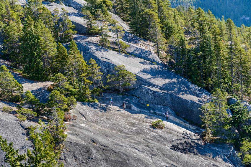 Stawamus Chief - South Peak - Squamish BC - 2012-09-13 : Middle peak climb
