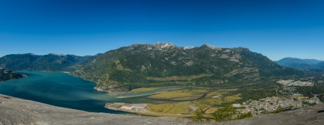100 Megapixel Nikon D800 Panorama from the Stawamus Chief