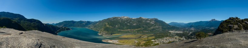 Stawamus Chief Panorama : Sept 13, 2012 : 2048 pixels