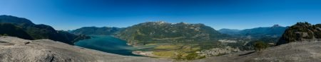 Stawamus Chief Panorama : Sept 13, 2012 : 5000 pixels