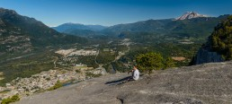 Stawamus Chief - South Peak - Squamish BC - 2012-09-13 : View & Me