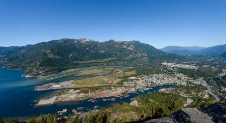 Stawamus Chief - South Peak - Squamish BC - 2012-09-13 : View