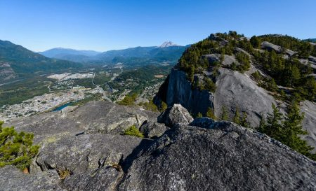 Stawamus Chief - South Peak - Squamish BC - 2012-09-13 : View