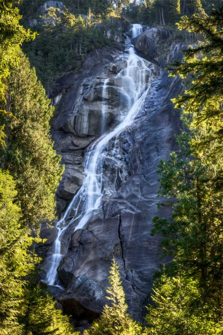 Stawamus Chief - South Peak - Squamish BC - 2012-09-13 : Shannon Falls HDR