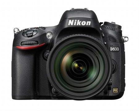 Nikon D600 FX DSLR Camra : Front View