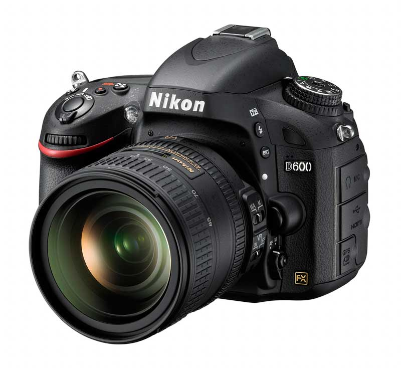 Nikon D600 FX DSLR Camera : Left Side View