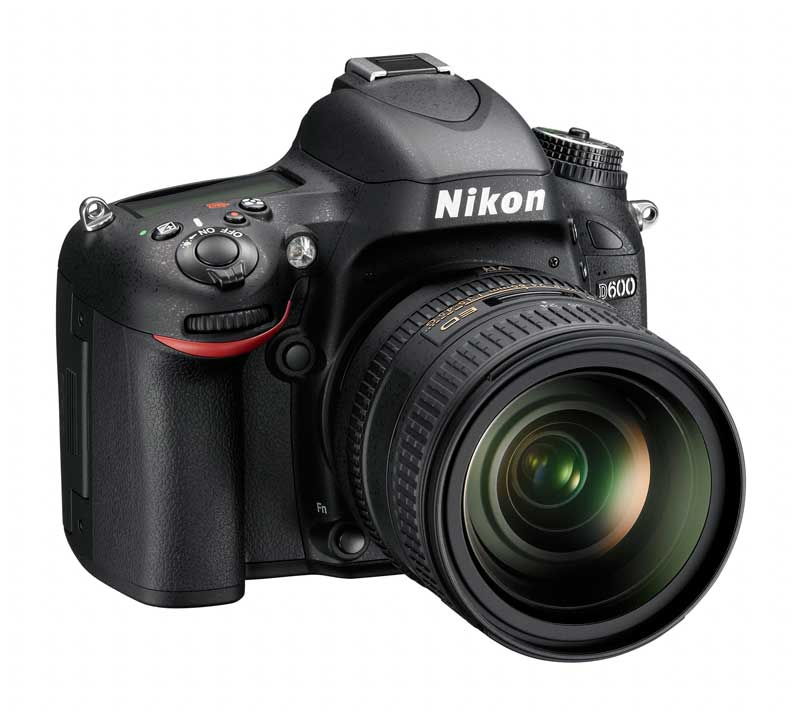 Nikon D600 FX DSLR Camera : Right Side View