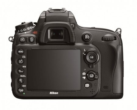 Nikon D600 Full Frame Camera : Back