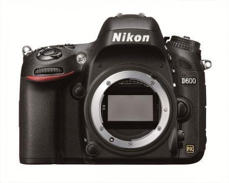Nikon D600 Full Frame Camera : Front